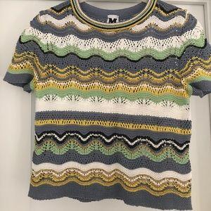 Missoni crop top, knit
